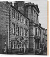 Regent Quay Aberdeen Scotland Uk Wood Print