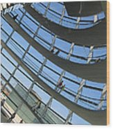 Reichstag Dome Wood Print
