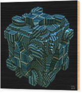 Relativity II Wood Print