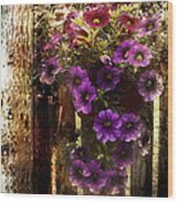 Relaxed Beauty Wood Print