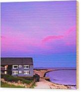 Relaxing Peaceful Ocean Air Wood Print