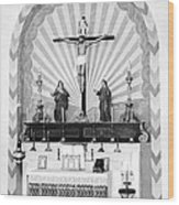 Religion, Mission San Carlos Borromeo Wood Print