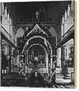 Religion, Our Lady Of Peace Cathedral Wood Print by Everett