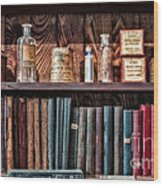 Remedies And Visiting List Wood Print