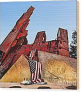 Remember September 11th Wood Print