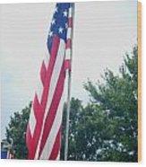 Remembering 9-11 Wood Print