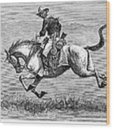 Remington: 10th Cavalry Wood Print
