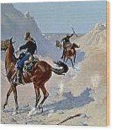 Remington: Guard, 1890 Wood Print