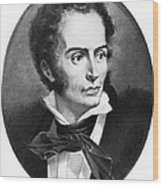 Rene Laennec, French Physician Wood Print