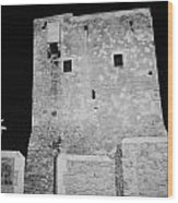 restored pyla tower a UN Partnership for the future project UNDP-PFF  Wood Print