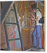 Restoring Art Wood Print