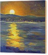 Return Of The Light Wood Print