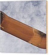 Return To Flight Jettisoned Fuel Tank Wood Print