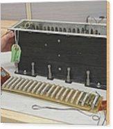 Return To Flight Sensor Tests Wood Print