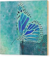 Reve De Papillon - S02a2 Wood Print by Variance Collections