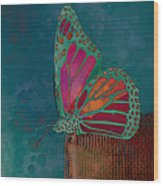 Reve De Papillon - S04bt02 Wood Print