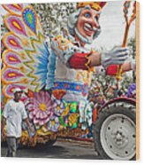 Rex Mardi Gras Parade IIi Wood Print