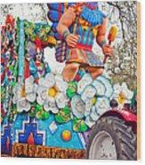 Rex Mardi Gras Parade V Wood Print