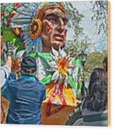 Rex Mardi Gras Parade Vii Wood Print