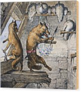 Reynard The Fox, 1846 Wood Print