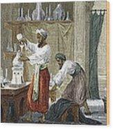Rhazes, Islamic Scholar Wood Print