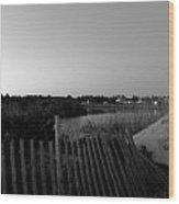Rhode Island Seaside Wood Print