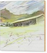 Ribera Del Duero In Spain 15 Wood Print
