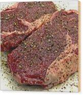 Ribeye Steak... Carnivore Eye Candy Wood Print by James Temple