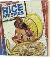 Rice Krispies Wood Print