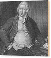 Richard Arkwright, English Industrialist Wood Print