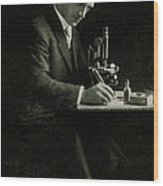 Richard C. Cabot, American Physician Wood Print by Science Source