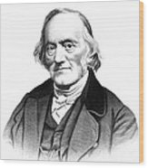 Richard Owen, English Paleontologist Wood Print