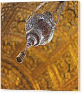 Richly Decorated Ceiling Wood Print
