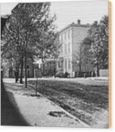 Richmond: Davis Home, 1865 Wood Print