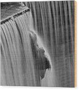 Rideau Falls Wood Print