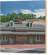 Ridgway Depot 16747 Wood Print