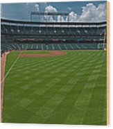 Right Field Of Oriole Park At Camden Yard Wood Print