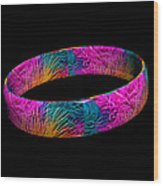 Ring Of Feathers 3d Wood Print