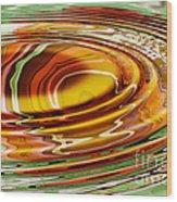 Rippled Abstract Wood Print