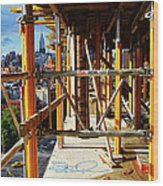 Rising Loisaida Wood Print