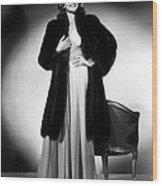 Rita Hayworth, 1940 Wood Print by Everett