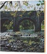 River Annalee, Ballyhaise, Co Cavan Wood Print