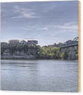 River Bluff Wood Print