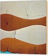 River By Twelve Panel 6 Wood Print