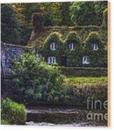 River Cottage Wood Print