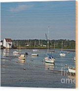 River Deben Estuary Wood Print