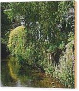 River Eaa Wood Print