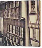 River House Wood Print