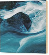 River Lynn Wood Print