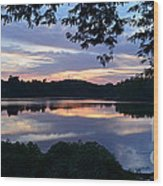 River Of Tranquility Wood Print